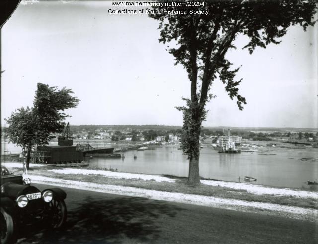 Tukey's Bridge, Portland, ca. 1930