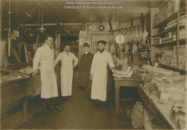 Parker's store, Portland, ca. 1915