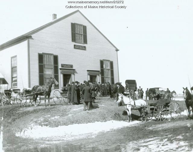 Last town meeting, Deering, 1891