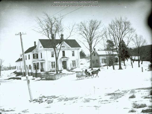 Samuel Libby House, Portland, ca. 1900