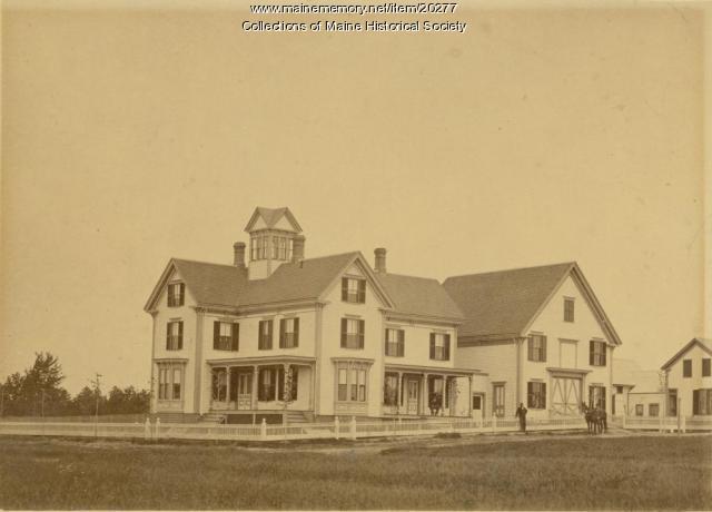 Richardson Farm, Deering, ca. 1900