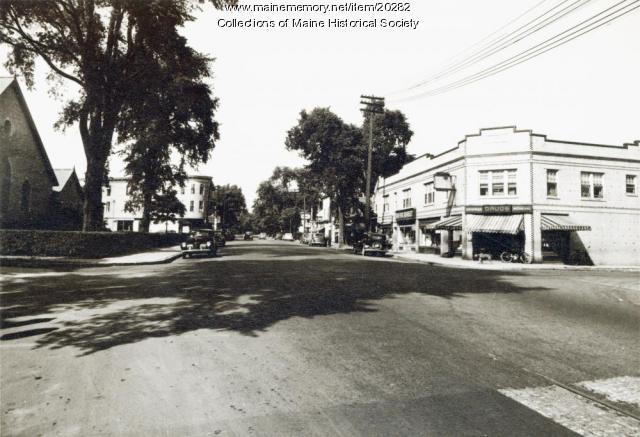Deering Center, Portland, ca. 1940