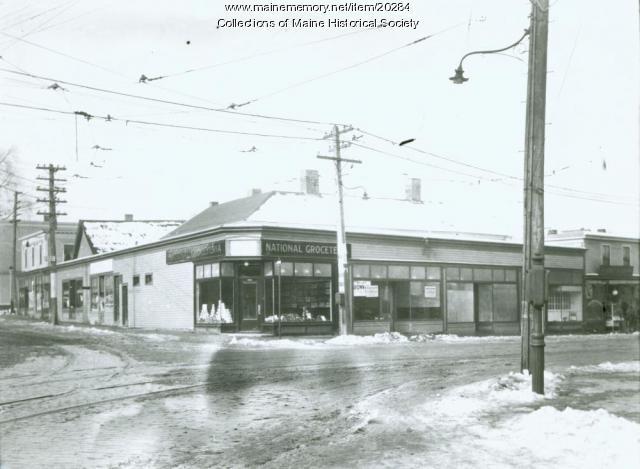 National Groceteria, Portland, 1924