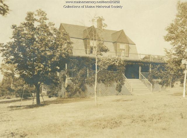 Blanchard Cottage, Diamond Island, ca. 1935