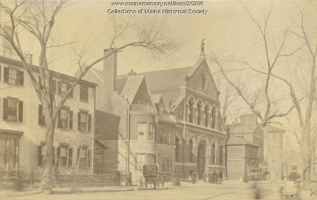 Congress Street, Portland, ca. 1895