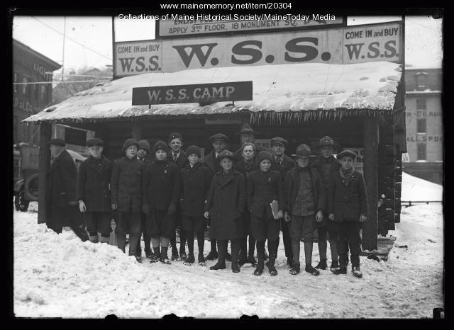 Boy Scouts, Portland, ca. 1918