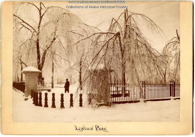 Lincoln Park, Portland, ca. 1886