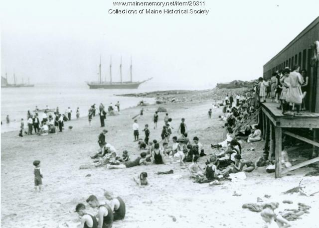 East End Beach, Portland, 1921
