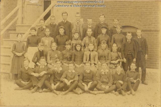 Butler School Class of 1886, Portland