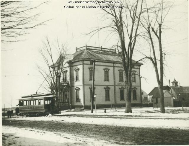 Old Deering High School, Portland, ca. 1900