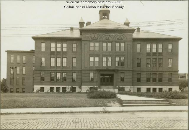 Deering High School, Portland, ca. 1915