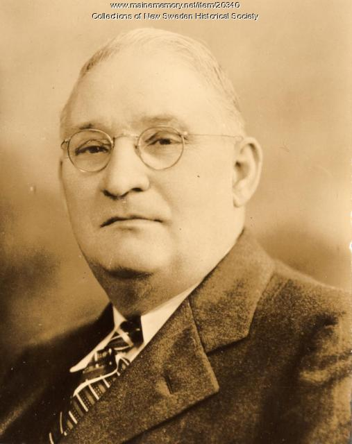 Aaron Anderson, New Sweden, ca. 1938