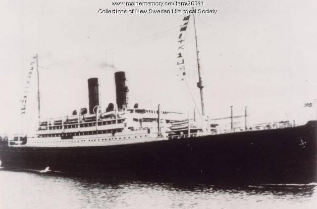 Aurania, Cunard Line, ca. 1900