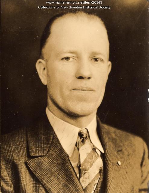 Clifford Anderson, ca. 1938