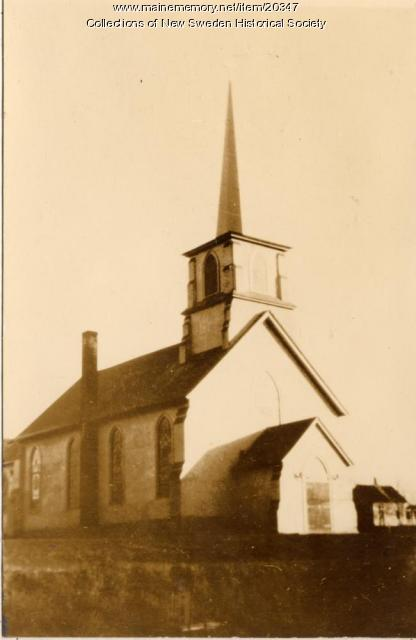 New Sweden Gustaf Adolph Lutheran Church, ca. 1938