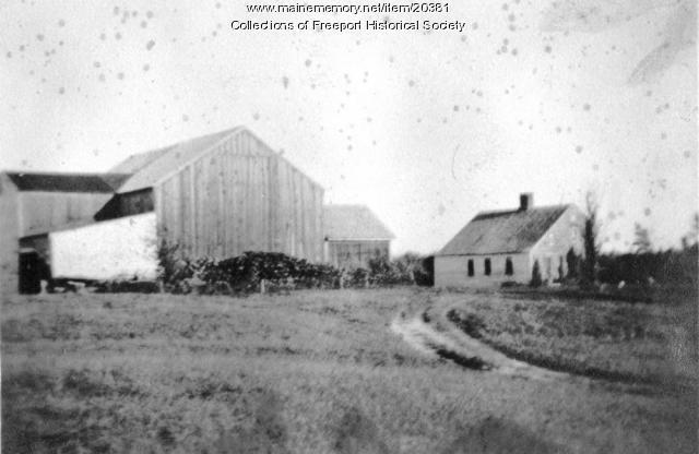 Pettengill farm, Freeport, ca. 1920