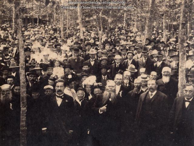 30th Anniversary Celebration, New Sweden, 1900