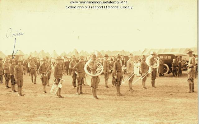 2nd Maine Regiment Band, 1917