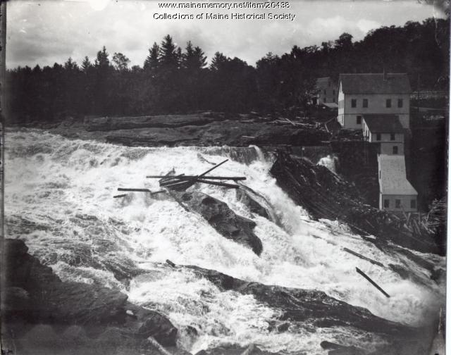 Rumford Falls, Rumford, ca. 1900