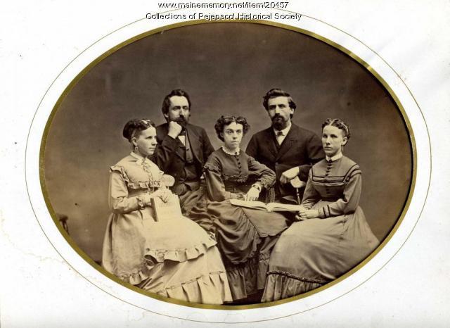 Brunswick residents, ca. 1870