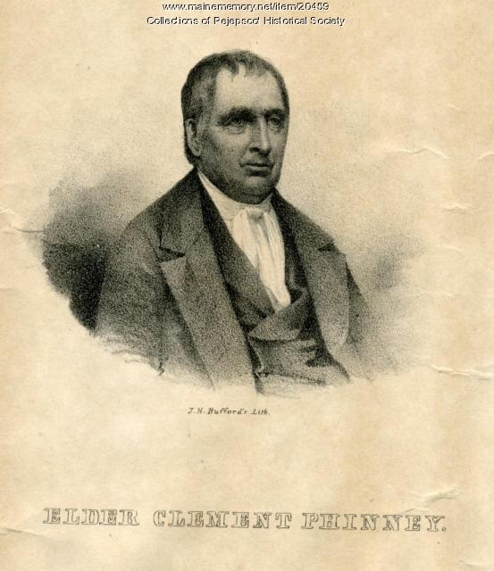 Elder Clement Phinney, Standish, ca. 1810