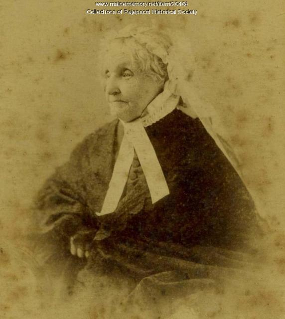 Mrs. Jane D. Lamb, ca. 1895