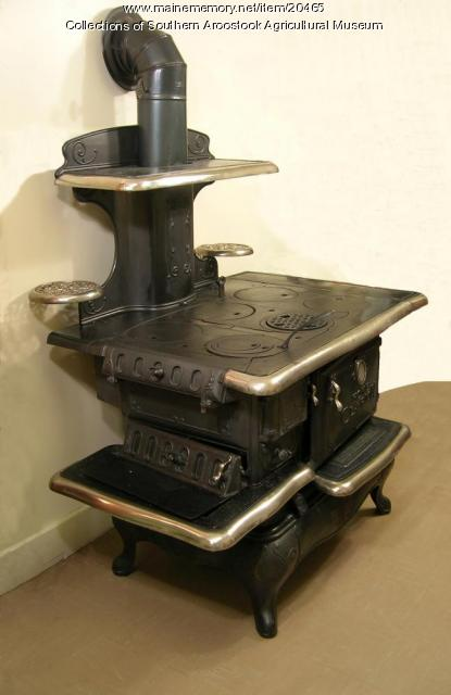 Home Clarion stove, Bangor, ca. 1900