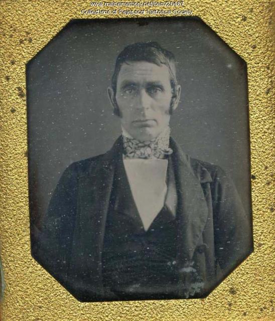 Capt. George Mustard, Brunswick, ca. 1860