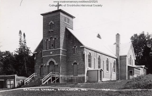 St. Theresa's Catholic Church, Stockholm, ca. 1944
