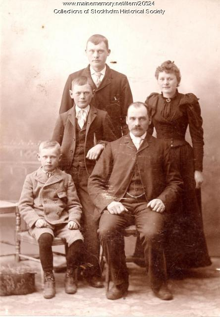 Gunnerson familly, Stockholm, ca. 1930