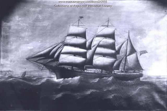 Merchant ship from the Skolfield fleet, ca. 1860