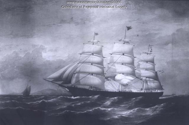 Ship of the Skolfield fleet, 1860