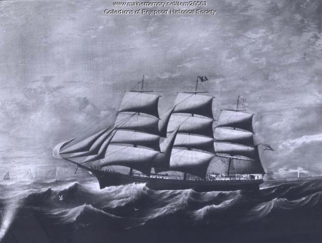 Ship Sam Skolfield, ca. 1880