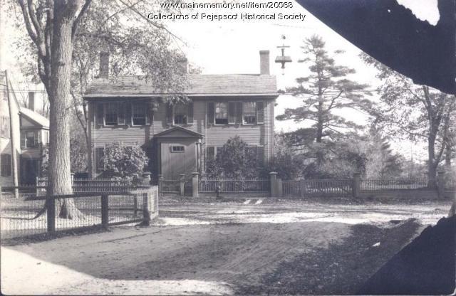 The Longfellow House, Brunswick, ca. 1920