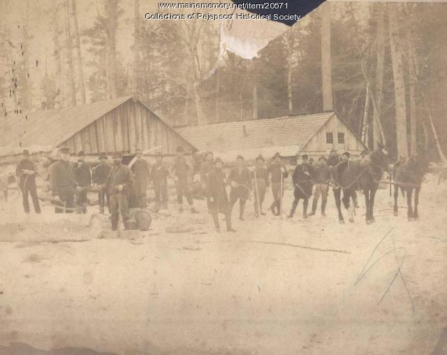 Logging Camp, ca. 1900