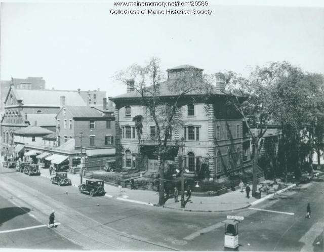 Congress Street, Portland, ca. 1925