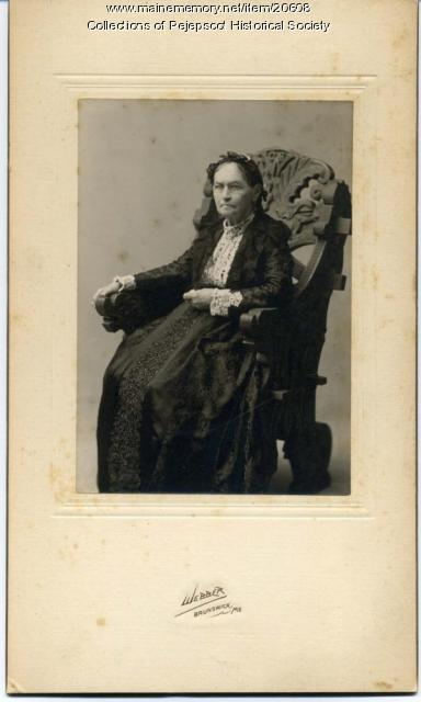 Mary Hacker Atkinson, Brunswick, ca. 1890