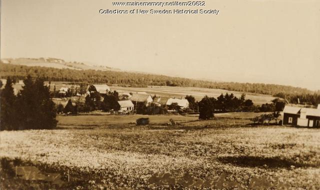Farmland in New Sweden, ca. 1938