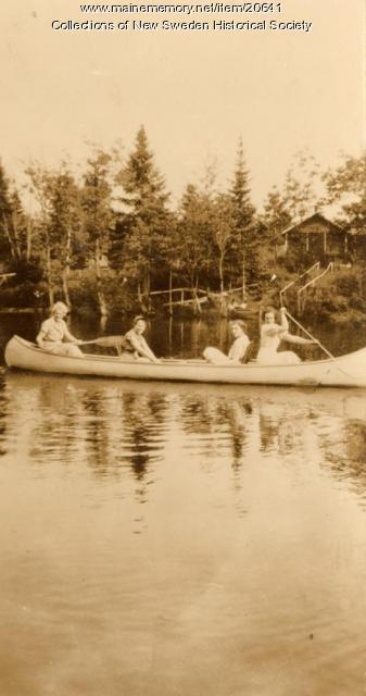 Canoeing on Madawaska Lake