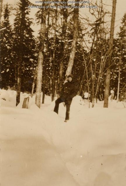 New Sweden winter, 1930