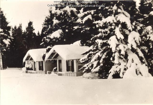 Winter, Madawaska Lake, ca. 1930