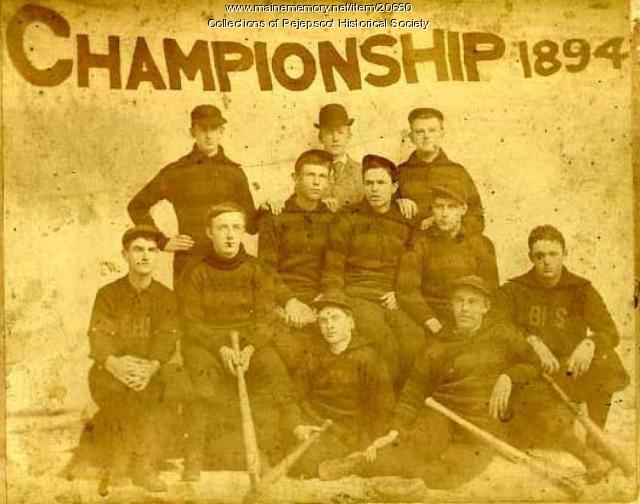 Baseball Championship, Brunswick, 1894