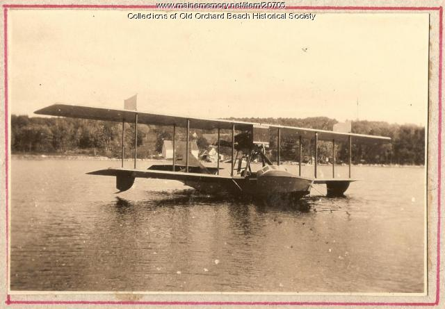Curtiss MF-2, Old Orchard Beach, ca. 1925