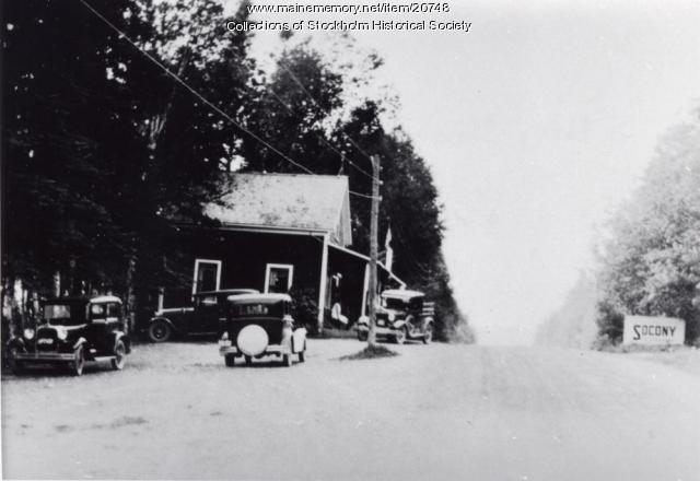 Lawson's Store, Madawaska Lake,  ca. 1920