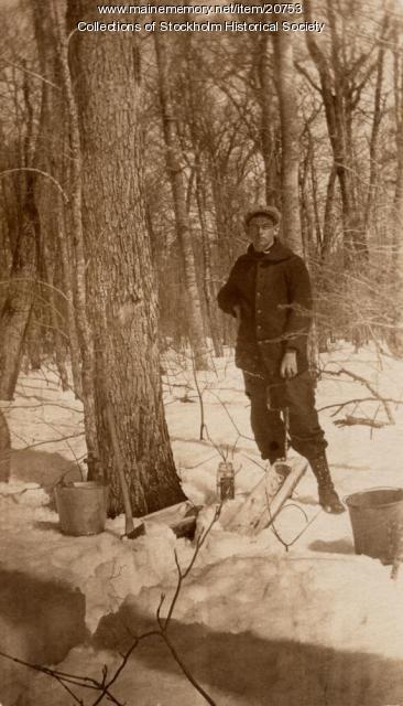 Olof Elliot Hede, Maple Sugaring, Stockholm,  ca. 1925