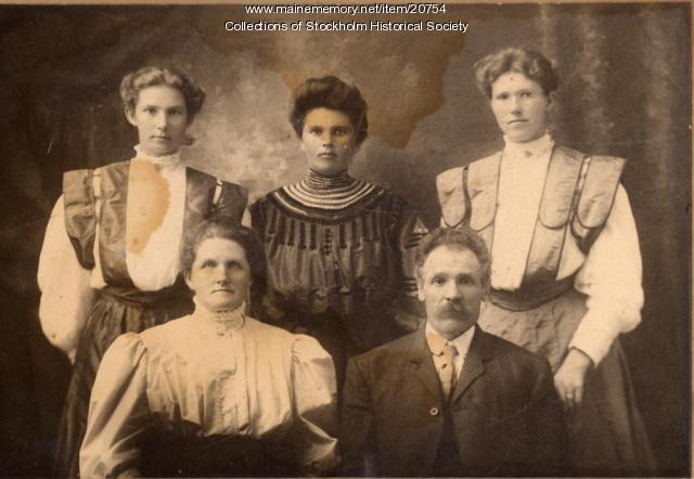 Swenson Family, Stockholm, c. 1910