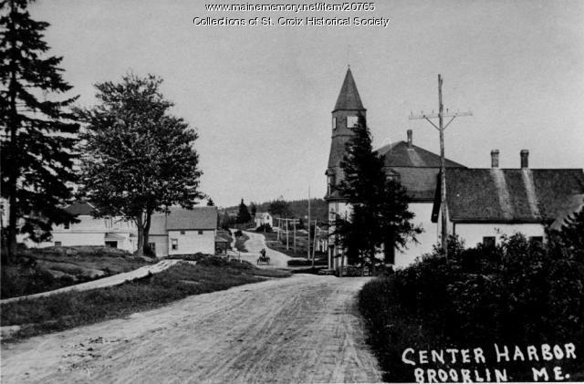 Center Harbor, Brooklin, ca. 1900