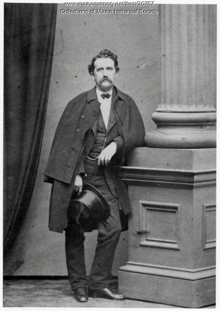 Hermann Kotzschmar, Portland, ca. 1860