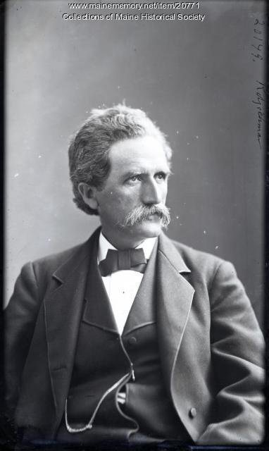 Hermann Kotzschmar, Portland, ca. 1875