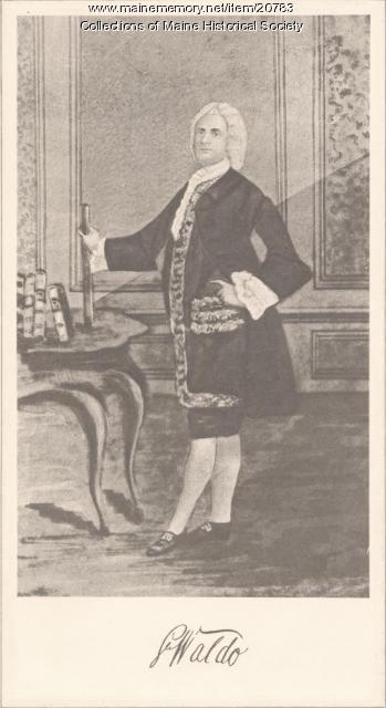 Samuel Waldo, ca. 1750